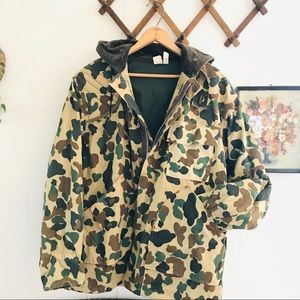 American Sportsman Camo Bomber Hunting Jacket